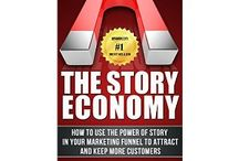 #1 Amazon Best Selling Author - Small Business Marketing / This is where I keep pins related to my new best selling book, The Story Economy. / by Tom Curtis