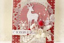 Cards I like (Christmas) 3 / by Dorthe Pabst