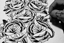tattoos / by Faith Pahoundis
