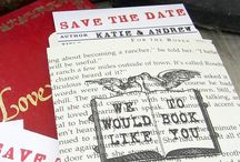 save the date & invites - books / by Kristen T.