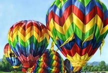 Hot Air Balloons / by Angela Bailey