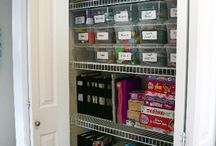 Organize ~ Storage / by Sarah Johnson