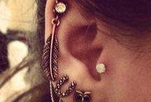 Earrings.  / by Tasia Fifield