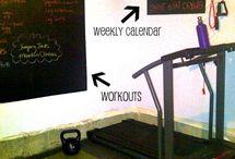 Home Gym / by Kimberly Barnett
