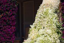 Flower decorations | iwedplanner / Wedding flower decoration in reception venues @iwedplanner wedding planner website / by iWedPlanner