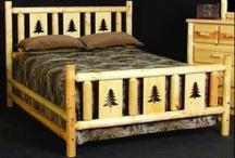 Log Furniture / by Darlene S