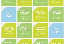 September | Fitsugar 21-day Flat Belly Challenge / fitsugars 21-day fitness challenge  / by Tiffani Gollihue