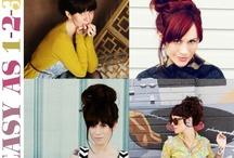 Hair, Makeup & Beauty / by Sarah Sweeney
