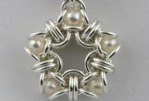 Chain Maille - Pendants / by Sherry Fox