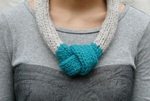 Knitted jewelry / by Alicia Grayson
