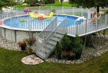 Pools & Patio's / by cathy wright