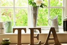Pinky up! / I have collected many tea sets for years and tea time has its rightful place in our house nightly. / by Keep You In Stitches Designs by Leshia