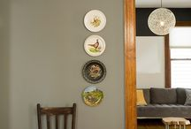 Wall color with stained trim / by Vanessa Rider