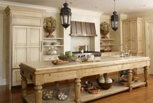 Inspire: Dream Kitchens / Beautiful inspiration for home kitchen design. / by The Scrumptious Pumpkin
