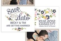 Save the Dates/ Invites / by Kierstin Yates