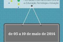 I JIO - Jornadas Internacionais Online / JIO - Jornadas Internacionais Online de Educação, Tecnologia e Inovação / by Ricardo Oliveira