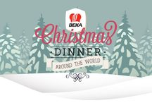 Christmas dinner around the world / What is your favorite Christmas recipe? Let us know. Enter in the Beke Christmas dinner contest and win a special Beka Cookware Christmas gift! Good luck! / by Beka Cookware