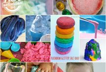 Kindergarten - Sensory / Science / Building / Recipes and ideas for sensory items/materials, building activities, as well as science centre activities / by Laura Alexandra