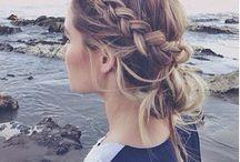 braids and hair / by Angela Ferr