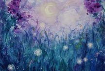 Cool color pallette / by Kathy Wiechert