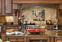 Homes - Open Plan Kitchen / Entertainment Area / by Ronelle Van Rooyen / Delicate Elegance Events