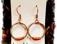 BelaSi Guitar String Earrings / by BelaSi Boutique
