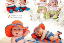 Baby dolls, clothes, furniture and more / by Tammy Arnold