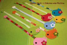 Felt bookmarks / by suhada ibrahim