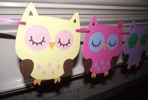Owl baby shower / by Genevieve Bufano
