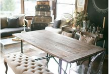 Home // Dining room / Dining room ideas. / by Rachel | Postcards from Rachel