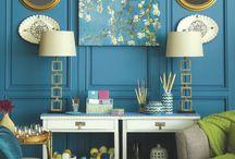 Panelled Walls / by Online Interior Design