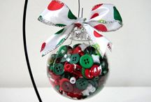 Clear Christmas Ornaments / by Michelle Forsythe