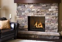 fireplace ideas / by Susan Shimp Heinrich