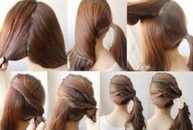 Easy updos / by Stevie Smith