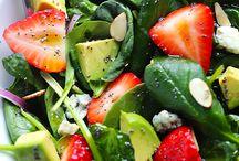 Clean & Healthy Sides & Salads :) / by Rainha Brazilva