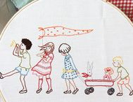 Finding Embroidery / Because I have such a love for handwork, but no talent for it...yet! / by Laura Putnam - Finding Home