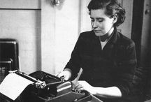 A Writer's Life / Brilliant writers at their desks or at work.  / by For Books' Sake