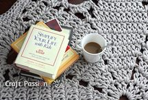Crochet rug doily / by Tal Levanon