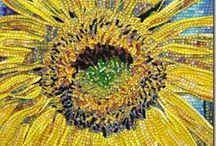 Flower Mosaics / by Ciel Gallery