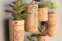 Cork Flowers / by Vicki Roberts Techau