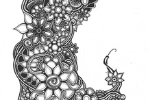 zentangle ideas / by LENA DANIELS