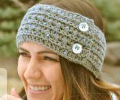 knit/crochet hats/headbands / by Tina Niesen