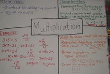 Math - Multiplication / by Mari Villarreal