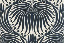 Black and White Interiors / by Vicki Horton