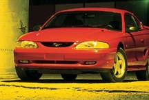 1994 Ford Mustangs / 1994 Ford Mustangs / by StangBangers
