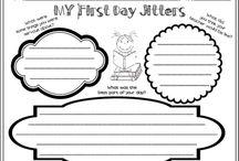 School--graphic organizers/foldables / by Kristi Franks