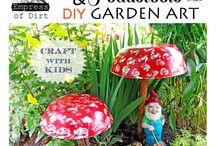 DIY Garden Art / Arte y jardin / by Juan Antonio Diaz