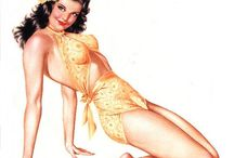 classic pin-ups / by Mitzi Caswell