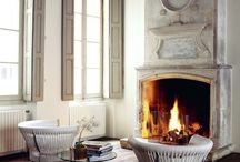 Some like it hot - Fireplaces / by DesignHouse - Debra Taylor Purvis