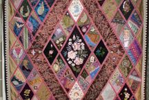 Crazy Quilting by Betty Pillsbury / by Taarna T